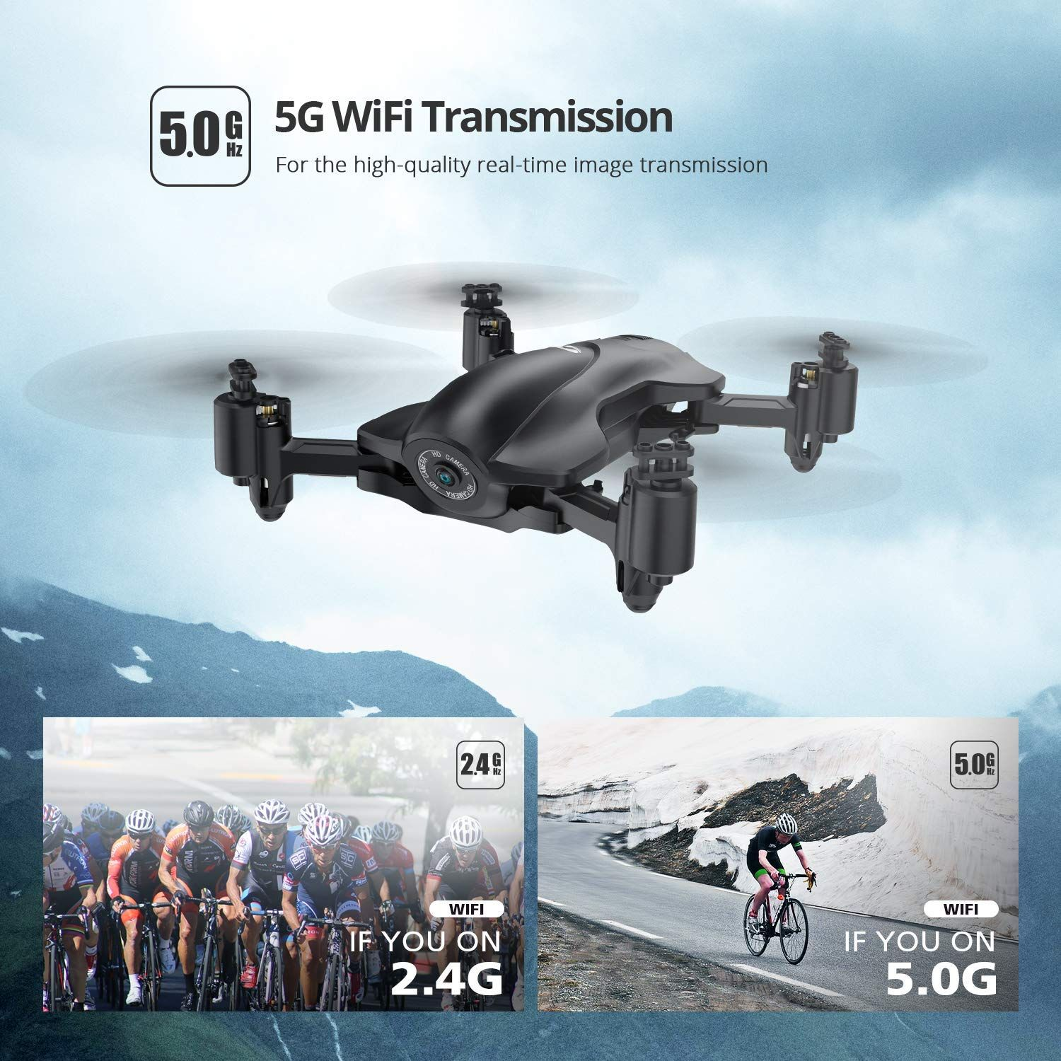 Holy Stone HS165 FPV Drone With Full HD 1080p Camera and GPS
