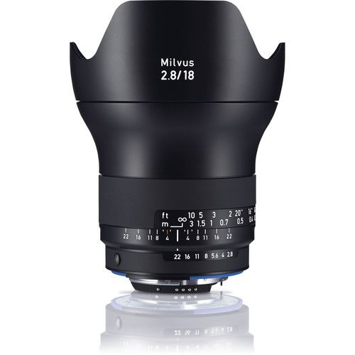 ZEISS Milvus 18mm f/2.8 ZF.2 Lens for Nikon F