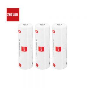 Zhiyun 18650 Lithium-Battery 2600mAh For Crane 3-Weebill S/Lab-Crane 2S (3 PCS)
