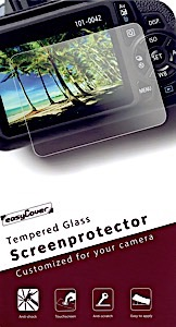 EasyCover Tempered Glass Screen Protector for Canon 5D III/5DS/5DSR/5D IV