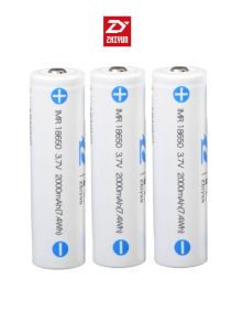 Zhiyun 18650 Lithium-Battery 2000mAh For Crane 2(3 PCS)